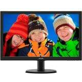 Monitor Philips LCD Tela de 23.6´ Full HD, 8ms, VGA/DVI/HDMI, SmartControl Lite - 243V5QHABA