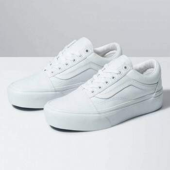 TÊNIS OLD SKOOL PLATFOR WHITE