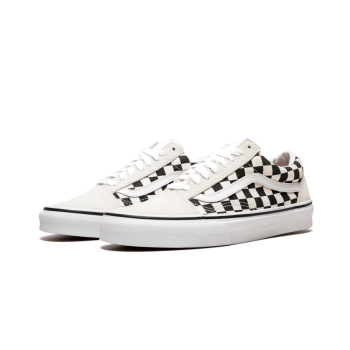 TÊNIS VANS OLD SKOOL CHECKERBOARD WHITE/BLACK