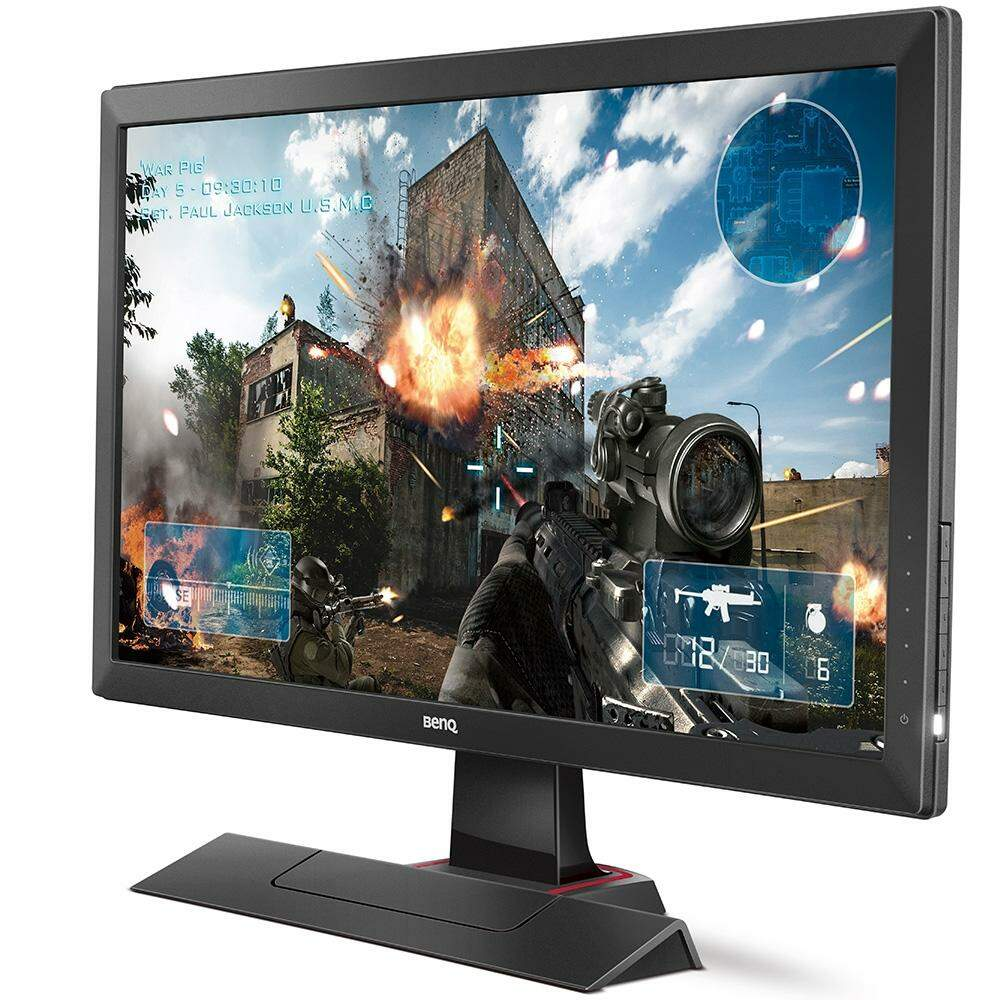Monitor Gaming Benq ZOWIE LED, Full HD, Tela 24´ 1080p, 1ms Grafite - RL2455