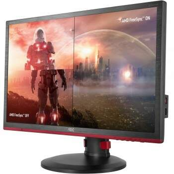 Monitor Gamer AOC Hero Led 24´ Widescreen 1ms 144Hz VGA/HDMI/Display Port G2460PF 110/220V bivolt