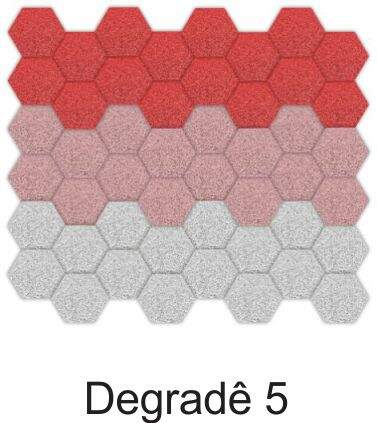 Espuma Acústica Hexagonal - Kit