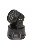 Mini CANHÃO MOVING HEAD 7 LEAD 12w RGB STROBO - BIVOLT