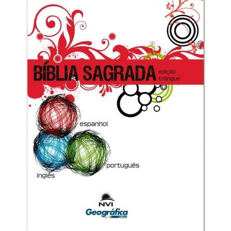 Biblia Trilingue Brochura Media - Geografica