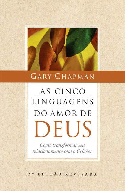 Livro - As Cinco Linguagens do Amor de Deus