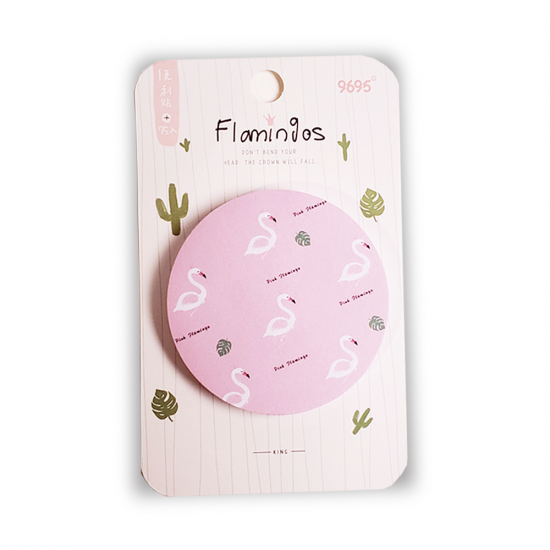 Sticky Note - Flamingo Rosa - M293