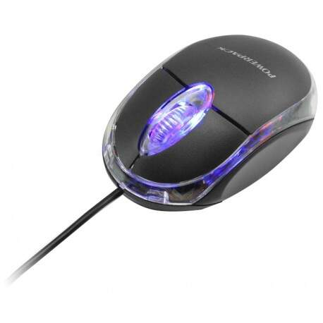Mouse Powerpack MUS-153 - Preto