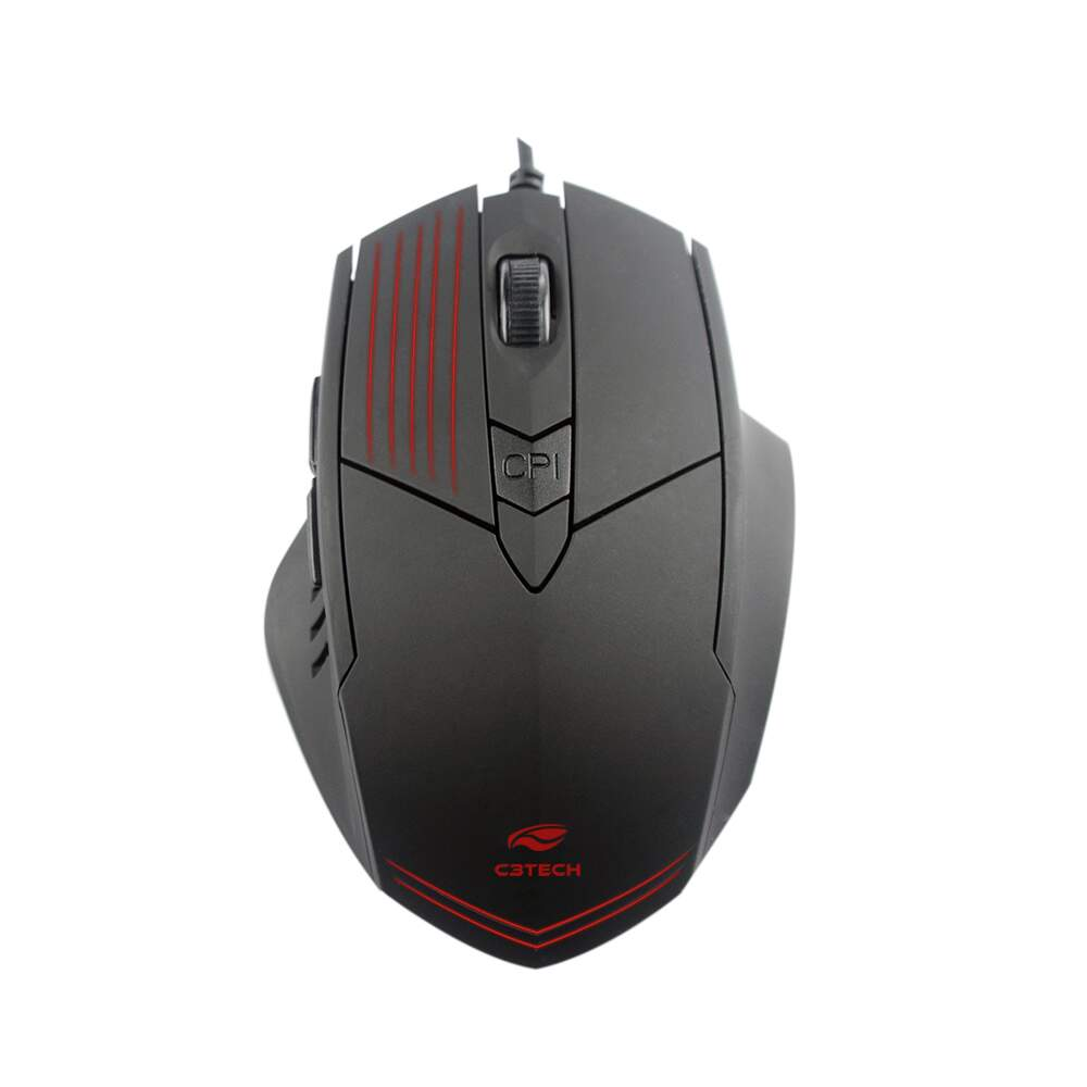 Mouse gamer USB MG-10BK preto