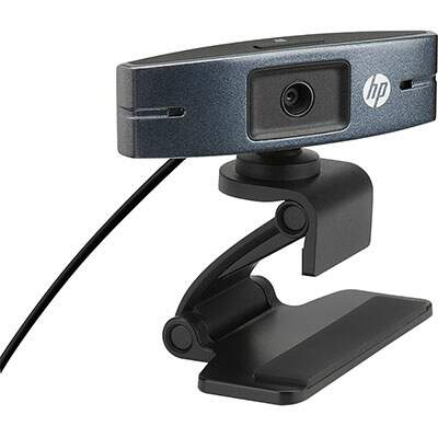 Webcam HD 720P HP - HD2300 Y3G74AA#ABL