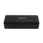 Switch 8P com Vlan fixa ethernet SF 800 - Intelbras