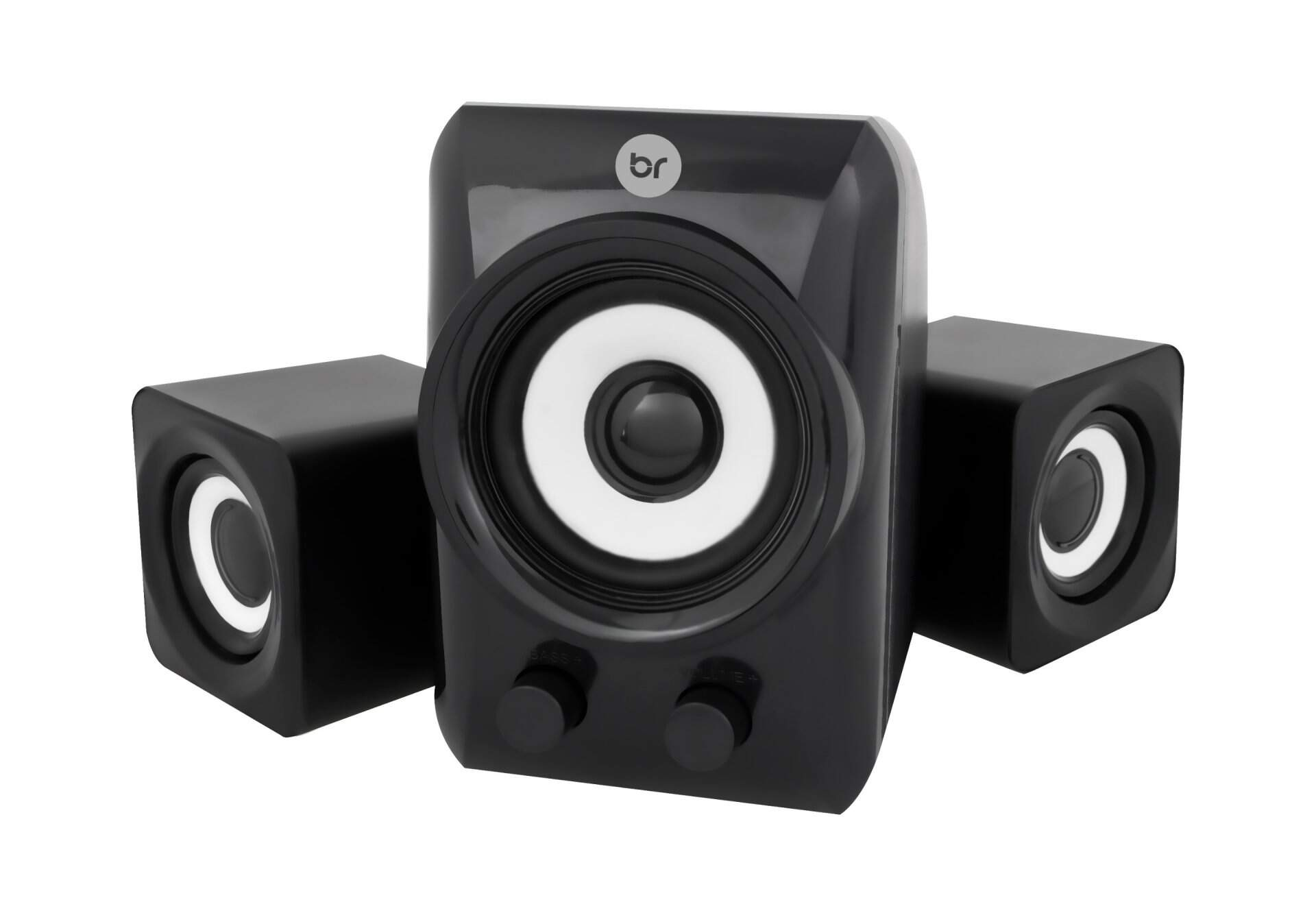 Mini Subwoofer 2.1 USB - Bright