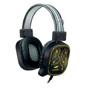 Headset c/ microfone gamer USB CRANE PH-G320BKV2 C3Tech
