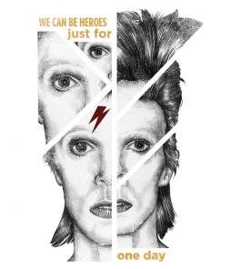 Camiseta David Bowie - We Can Be Heroes - Masculino