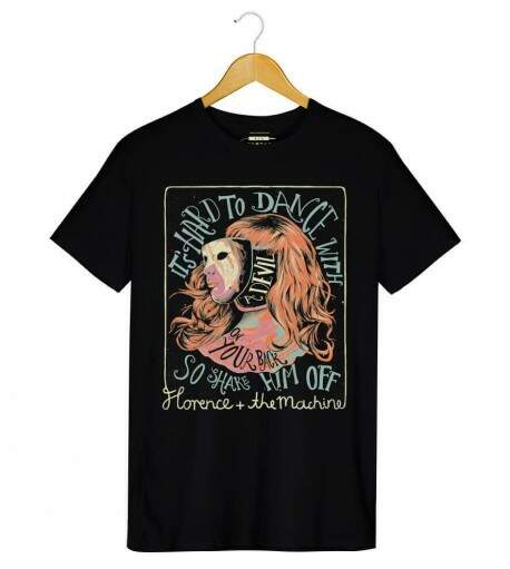 Camiseta Florence and The Machine - Shake It Out - Masculino
