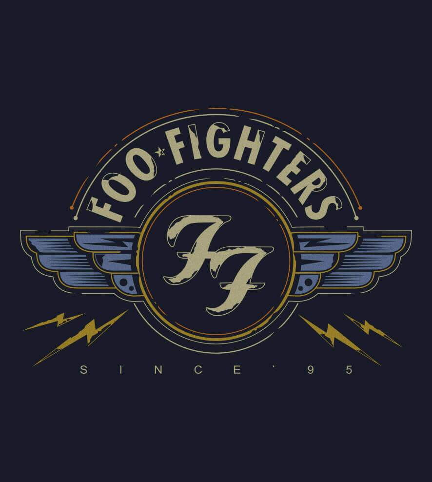 Camiseta Foo Fighters - Since 95 - Masculino