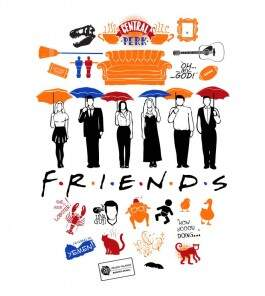 Camiseta Friends - Masculino