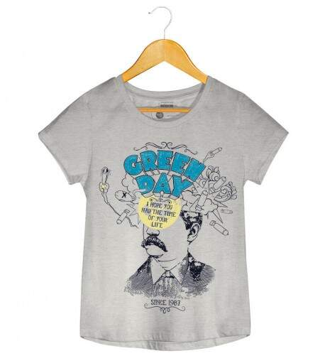 Camiseta Green Day - Time Of Your Life - Feminino