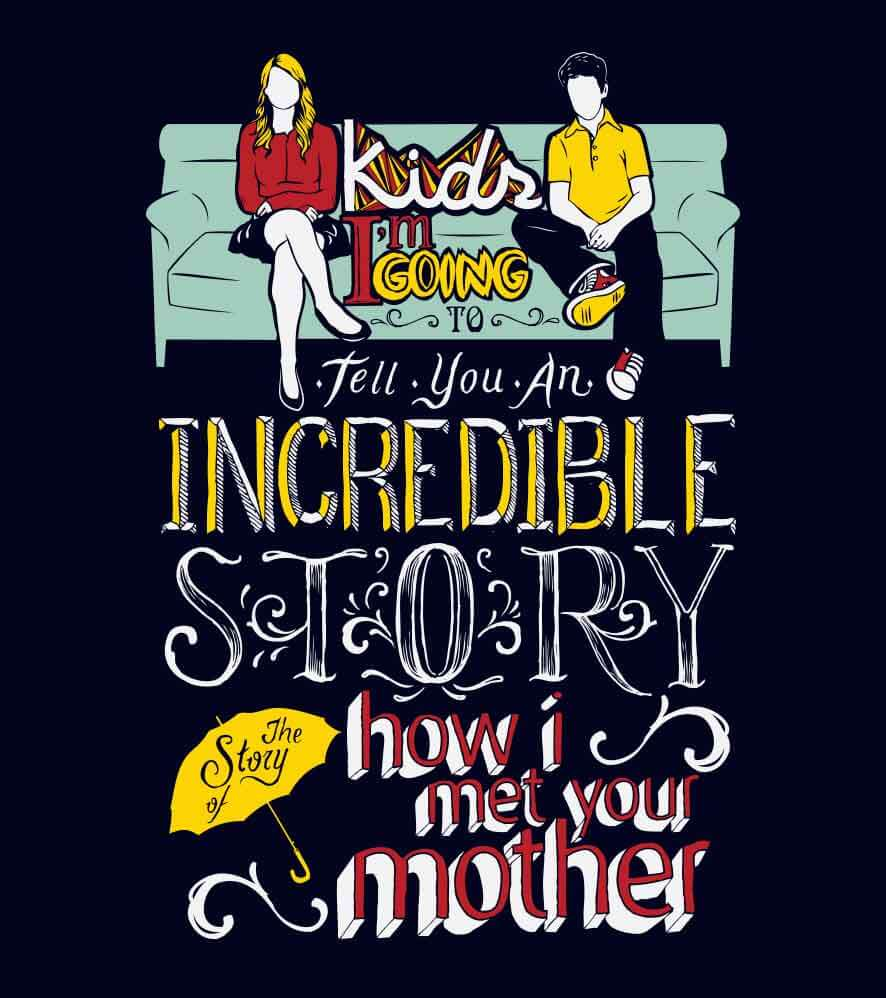Camiseta How I met Your Mother - Masculino