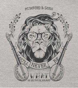 Camiseta Mumford and Sons - Little Lion Man - Feminino
