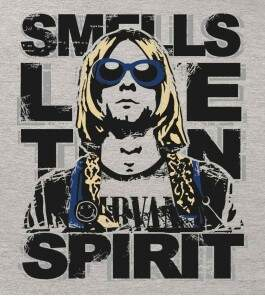 Camiseta Nirvana - Smell Like Teen Spirit - Feminino
