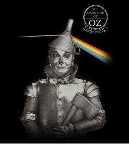 Camiseta Pink Floyd - The Dark Side Of Oz - Feminino