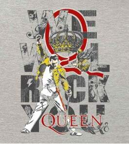 Camiseta Queen - We Will Rock You - Masculino