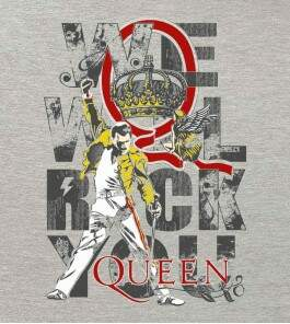 Camiseta Queen - We Will Rock You - Feminino