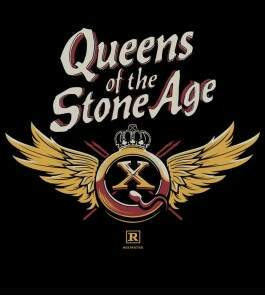 Camiseta Queens Of The Stone Age - QOTSA X Asas - Feminino