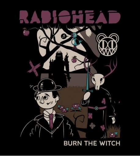 Camiseta Radiohead - Burn The Witch - Feminino