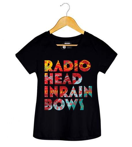 Camiseta Radiohead - In Rainbows - Feminino