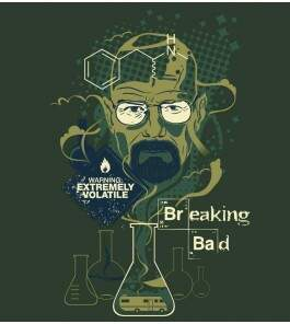 Camiseta Breaking Bad - Mr. Walter White - Masculino