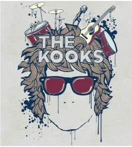 Camiseta The Kooks - Instruments - Feminino