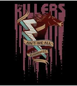 Camiseta The Killers - Runaways - Feminino