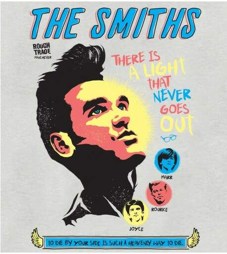 Camiseta The Smiths - There Is A Light - Feminino