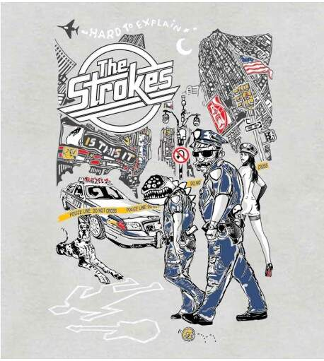 Camiseta The Strokes - Is This It - Masculino