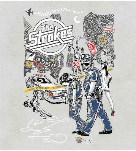 Camiseta The Strokes - Is This It - Feminino