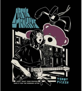 Camiseta Arctic Monkeys - Ted Picker - Feminino