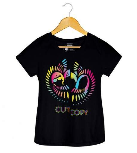 Camiseta Cut Copy - Lights & Music - Feminino