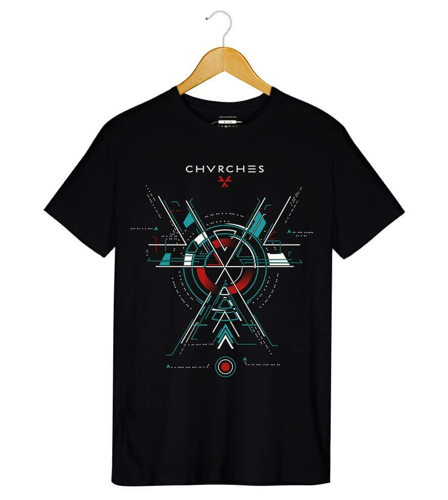 Camiseta Chvrches - The Bones Of What You Believe - Masculino