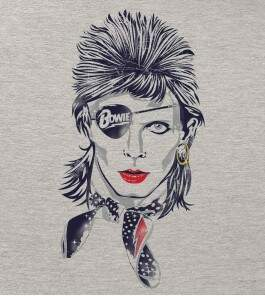 Camiseta David Bowie - Rebel - Feminino