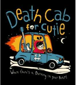 Camiseta Death Cab For Cutie - Codes and Keys - Feminino