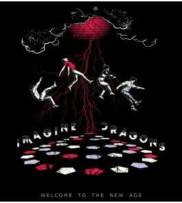 Camiseta Imagine Dragons - Welcome To The New Age - Masculino
