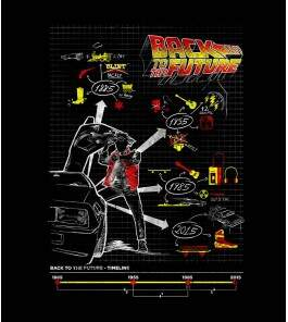 Camiseta Back To Future - Feminino