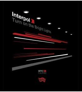 Camiseta Interpol - Turn On The Bright Lights 3 - Masculino