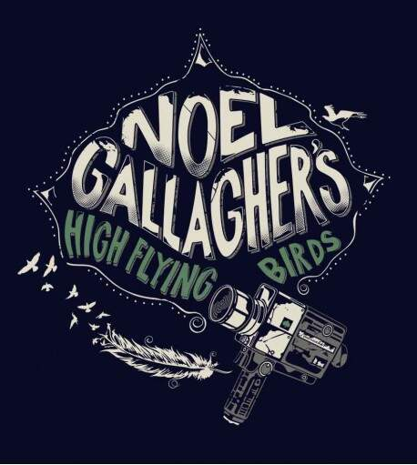 Camiseta Noel Gallagher - High Flying Birds - Masculino