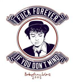 Camiseta Pete Doherty - Fuck Forever - Masculino
