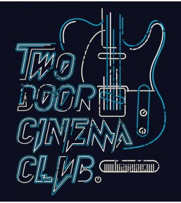 Camiseta Two Door Cinema Club - Masculino