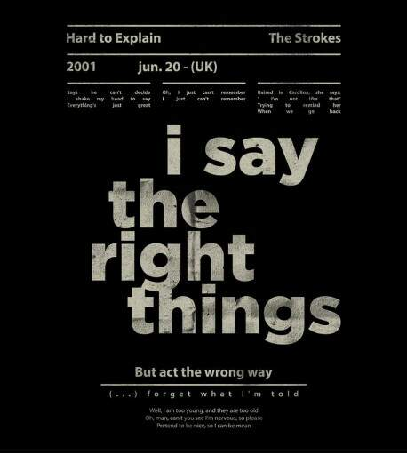 Camiseta The Strokes - Hard to Explain - Masculino