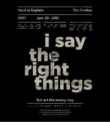 Camiseta The Strokes - Hard to Explain - Feminino