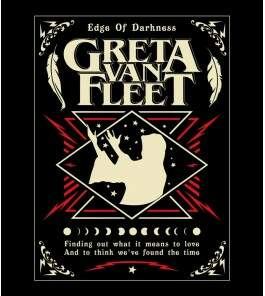 Camiseta Greta Van Fleet - Edge of Darkness - Feminino